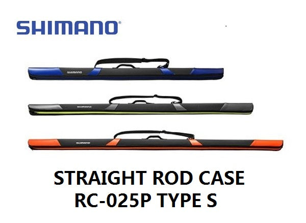 Shimano Straight Fishing Rod Case RC-025P TYPE S/W