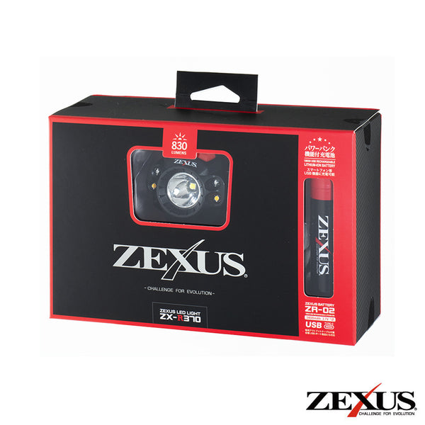 Zexus ZX-R370 Rechargeable LED Headlamp