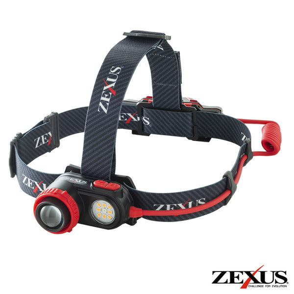 ZEXUS ZX-R730 1200 LUMEN RECHARGABLE HEADLAMP