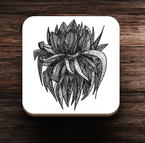Flower and Bush Coaster and Magnet