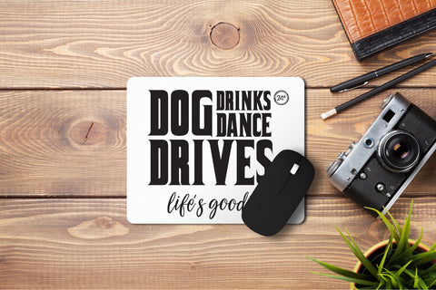 Dog Dance Drives Mousepad