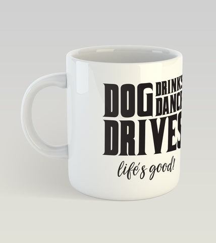 Dog Dance Drives Mugs