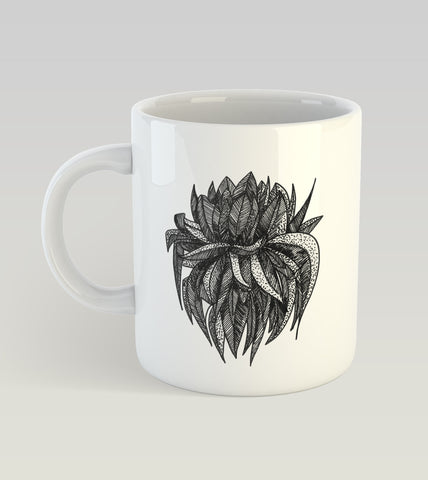 Flower and Bush Mugs