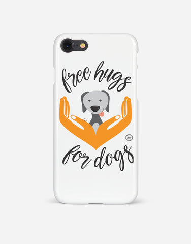 Free Hugs for Dogs Phone case