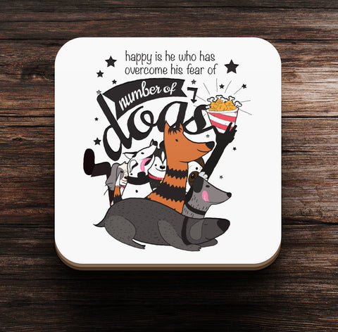 Happy is He Coaster and Magnet