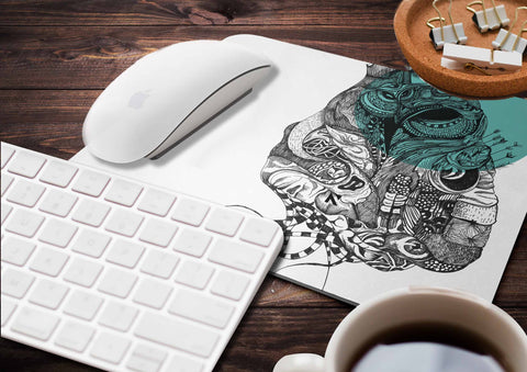 24N Night Owl Mousepad by Nitasha