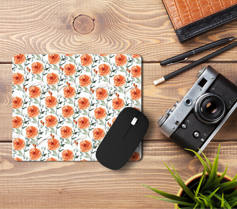 Roses Pattern Mousepad