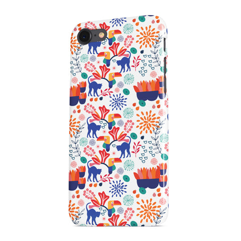 Cat in the Garden (I) Pattern Phone case