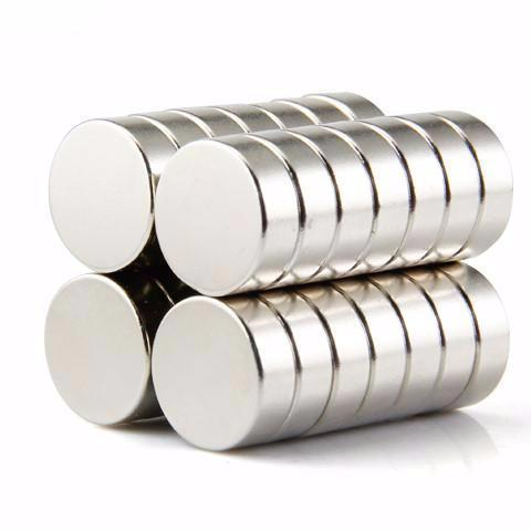 10 Pack Neodymium Disc Magnets 15mm X 5mm