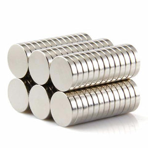 100 Pack Strong Round Magnets Dia.10mm X 2mm Rare Earth Neodymium Round Magnets