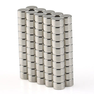 100 Pack Round 5mm x 3mm Neodymium Disc Magnets N50