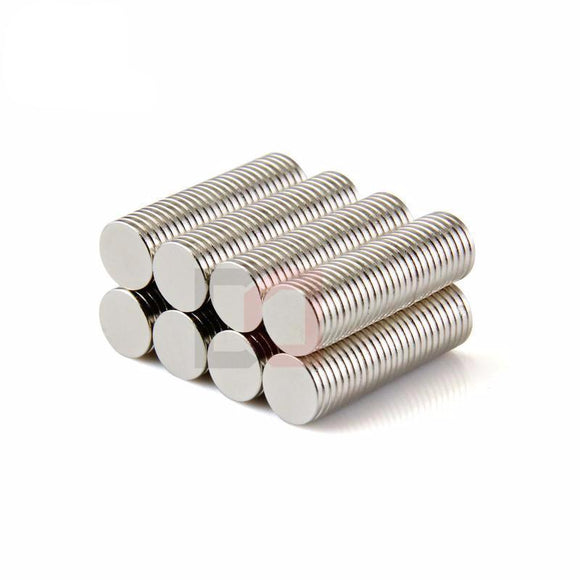 1000 Pack Round 8mm X 1mm Rare Earth Strong Neodymium Magnets