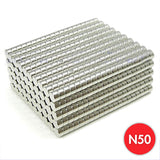 1000 Pack 5mm x 3mm Neodymium Cylinder Magnets N50