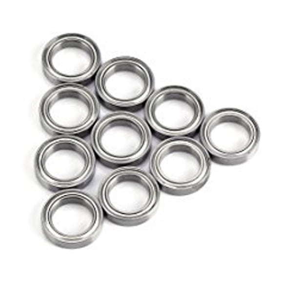 10 Pack 6704-ZZ Steel Deep Groove Ball Bearings 20x27x4mm