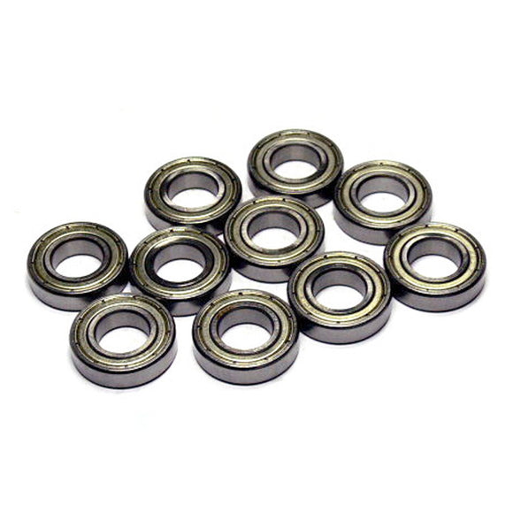 10 Pack 6901-2RS Thin Steel Ball Bearings 12x24x6mm