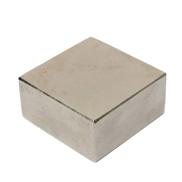 Powerful Square 50 x 50 x 25mm Neodymium Magnet N35