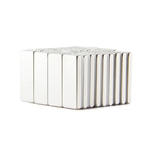 20 Pack 20mm X 8mm X 2.4mm Neodymium Magnet Block Rare Earth