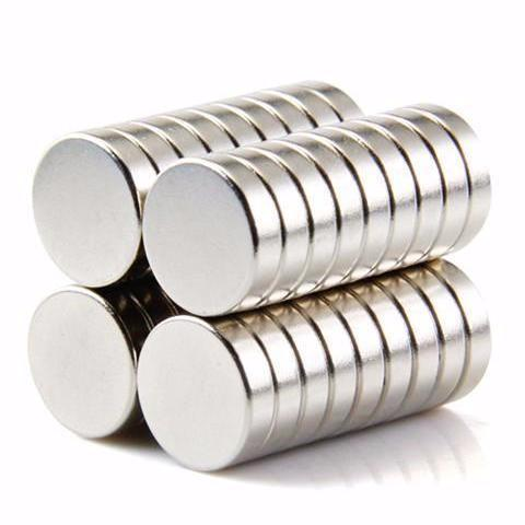 25 Pack Round 12mm X 3mm Rare Earth Permanent Industrial Neodymium Magnets