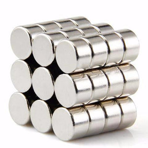 50 Pack Super Strong Neodymium Magnet Round 8mm X 5mm Rare Earth