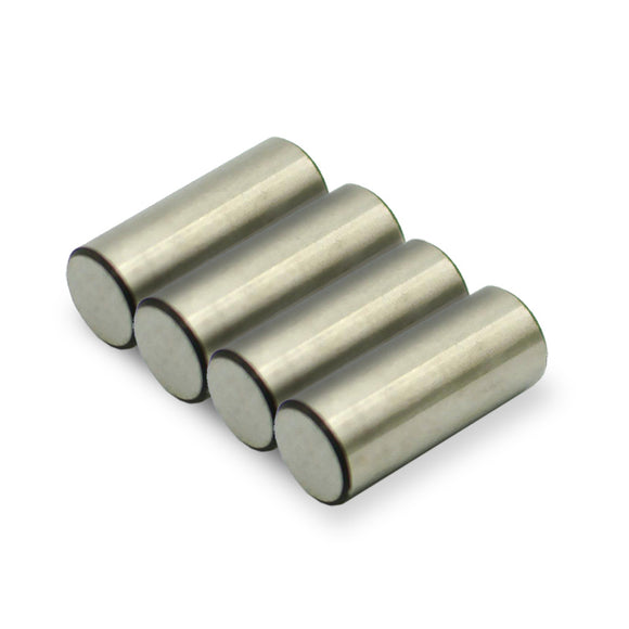 5-100 Packs 10mm x 24mm Round AlNiCo Cylinder Magnets