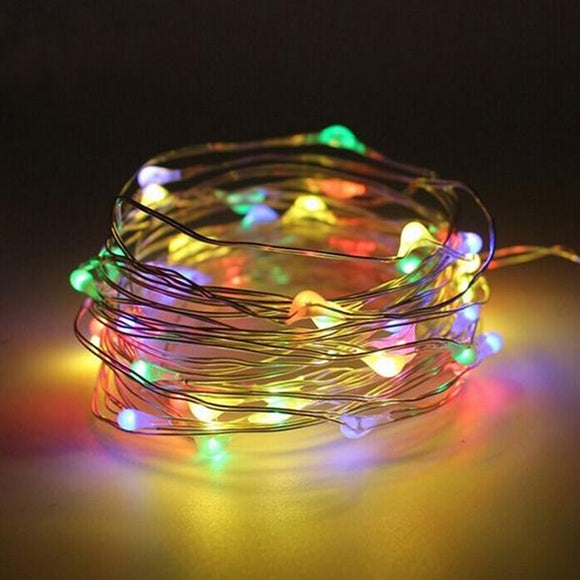 2-10 Metres Multiple Colour Option Fairy Lights