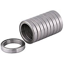 10 Pack 6705-ZZ Steel Deep Groove Ball Bearings 25x32x4mm