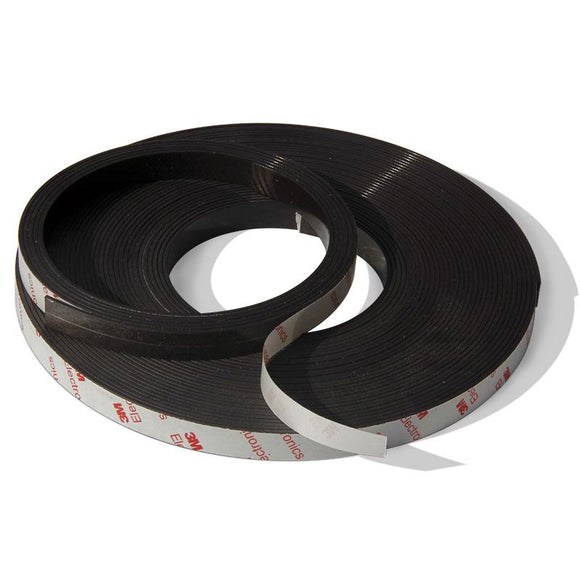 Magnetic Rubber Strip Magnet Tape 2 Meter Roll X 12.7mm Self Adhesive Back