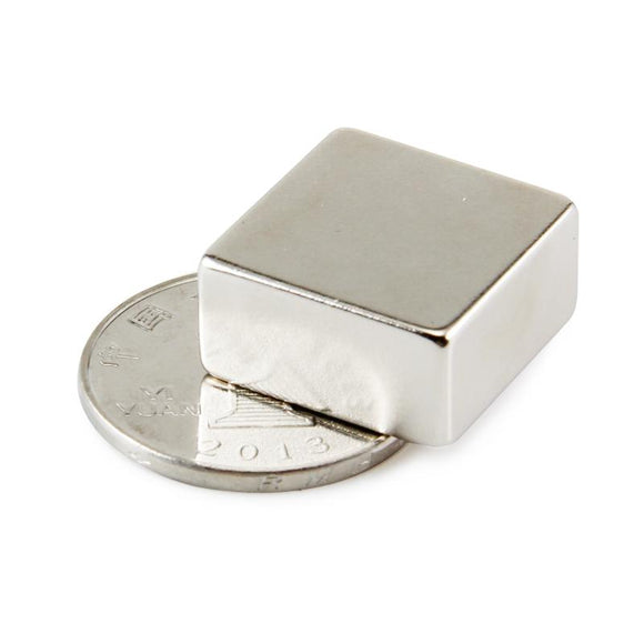 Neodymium Magnet Block 2 Pack 20mm X 20mm X 10mm Rare Earth Strong Magnets