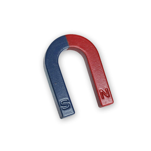 Children's Small Educational Horseshoe Magnet 42 x 36 x 7mm