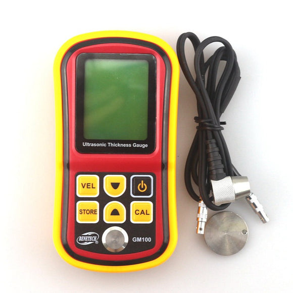 GM100 Digital Ultrasonic Thickness Gauge 1.2 - 220mm