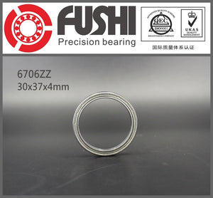 10 Pack 6706-ZZ Steel Deep Groove Ball Bearings 30x37x4mm