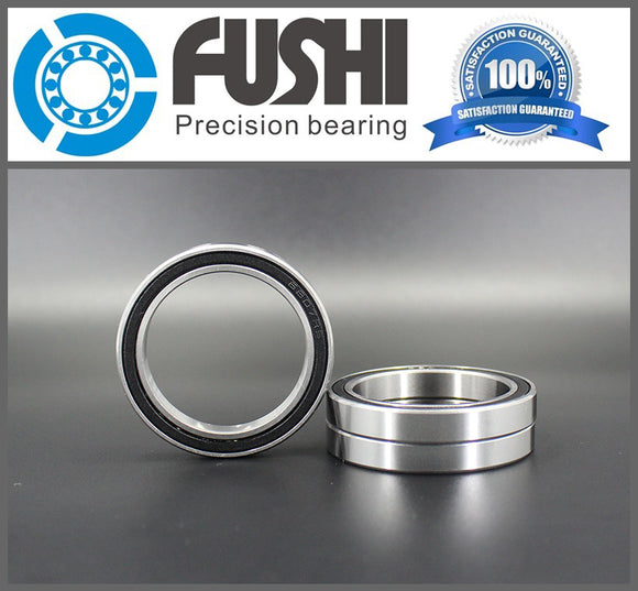 5 Pack 6909-2RS Steel Deep Groove Thin Section Ball Bearings 45x68x12mm