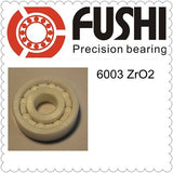 6003 Zirconia Ceramic Deep Groove Ball Bearings 17x35x10mm