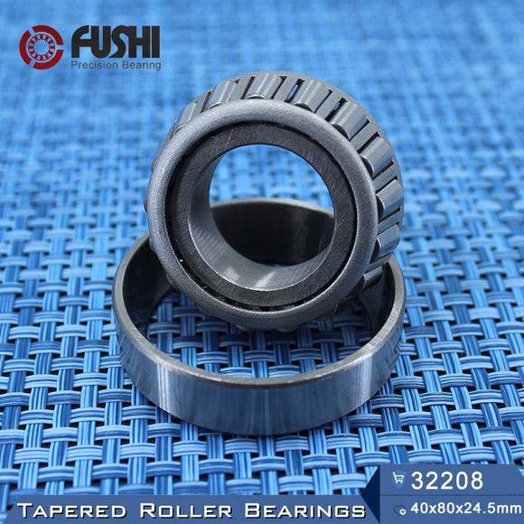 Fushi 32208X Tapered Roller Bearings 40x80x24.5mm