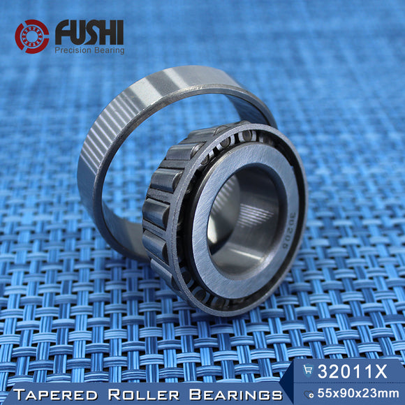Fushi 32011X Tapered Roller Bearings 55x90x23mm