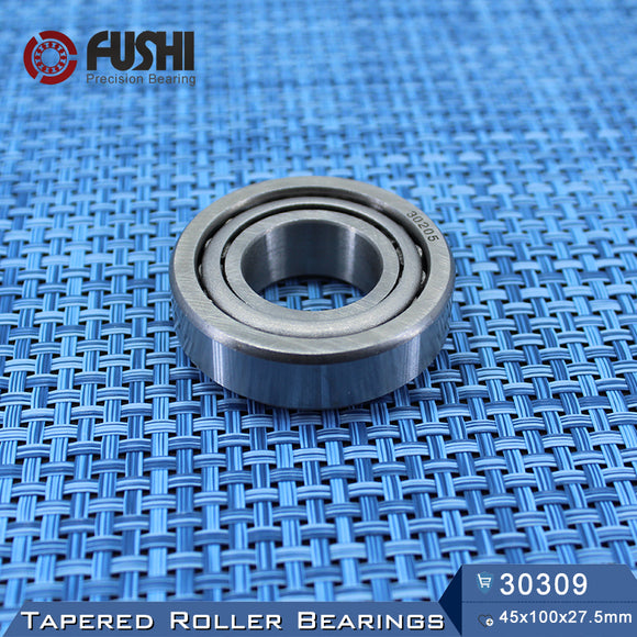 Fushi 30309X Tapered Roller Bearings 45x100x27.5mm