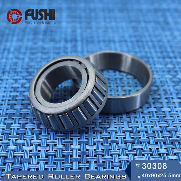 Fushi 30308X Tapered Roller Bearings 40x90x25.5mm