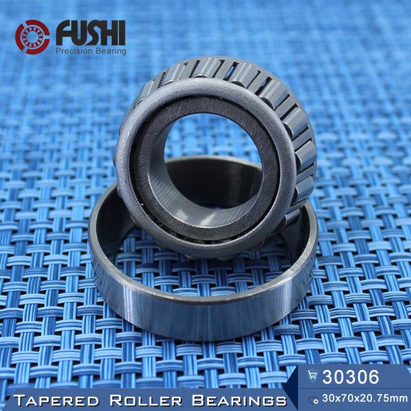 Fushi 30306X Tapered Roller Bearings 30x72x20.75mm