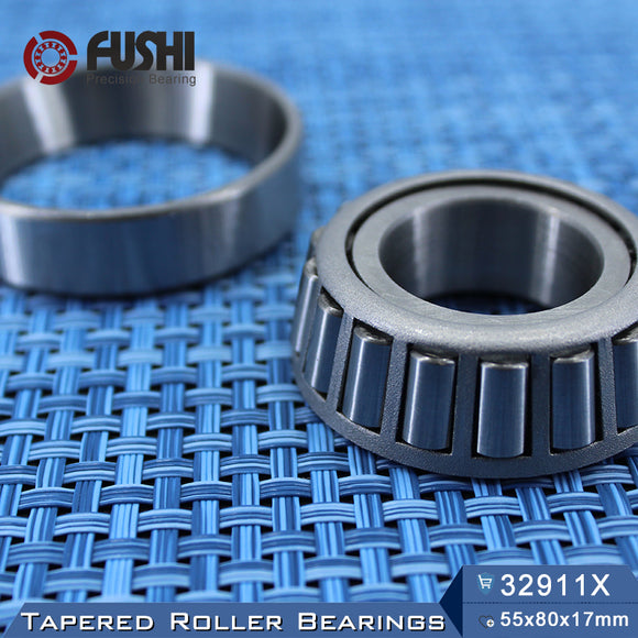 Fushi 32911X Tapered Roller Bearings 55x80x17mm