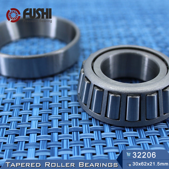 Fushi 32206X Tapered Roller Bearings 30x62x21.5mm