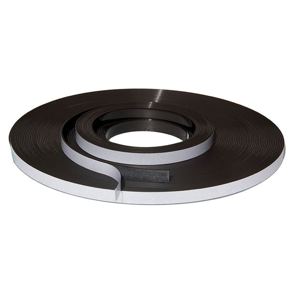 2 Metres of Rubber Magnetic Tape 12.7mm Wide x 1.5mm Thickness with Self-Adhesive