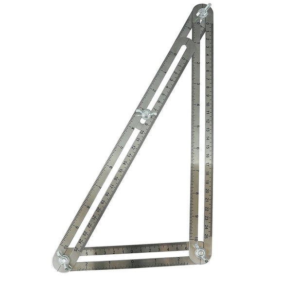 Stainless Steel Multi Angle Ruler Template Tool