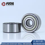 5213-ZZ Double Row Deep Groove Ball Bearings 65x120x38.1mm