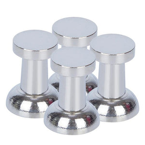 4 Pack Cup Style Office Neodymium Whiteboard Magnets