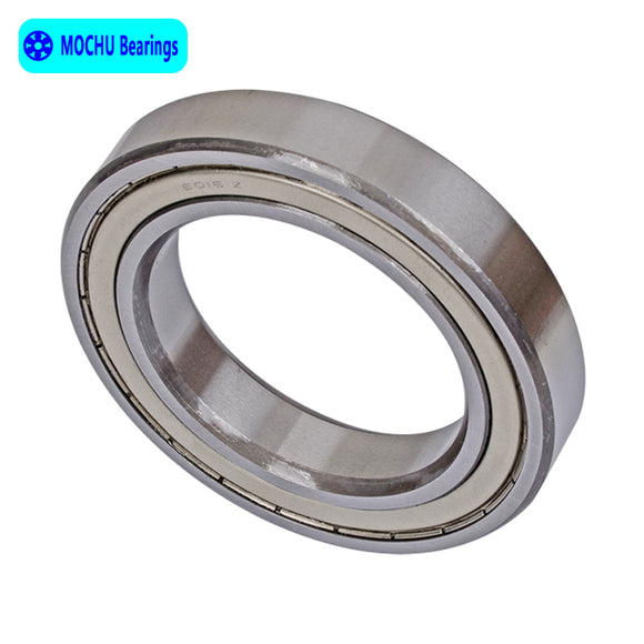 6016-ZZ  Steel Deep Groove Ball Bearings 80x125x22mm