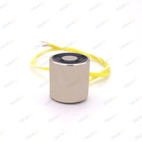 10x10mm Mini DC 6V/12V/24V Lifting Electromagnet — 0.3kg Hold Strength