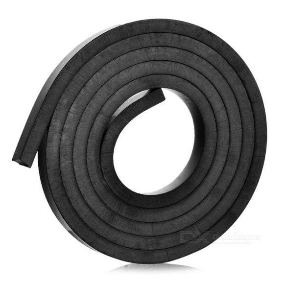1 Metre Rubber Magnetic Strips 10mm Wide x 5mm Thickness with Self-Adhesive