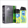 Adidas Get Ready Deodorant & Shower Gel Gift Set