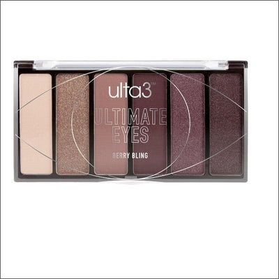 Ulta3 Ultimate Eyes Eyeshadow Palette - Berry Bling 6.2g