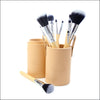 Travel Makeup Brush Set - Sand Dollar